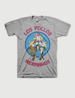 Μπλουζάκι με τύπωμα Breaking Bad - Los Pollos Hermanos