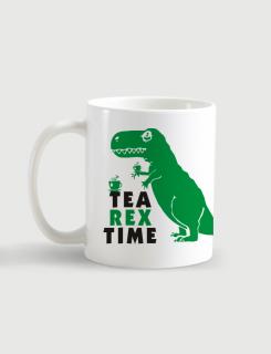 Κούπα κεραμική με τύπωμα Tea Rex Time