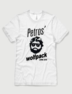 Μπλουζάκι με τύπωμα Wolfpack