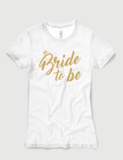 Μπλουζάκι με τύπωμα Bride to be