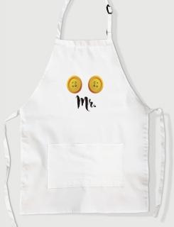 Ποδιά Μαγειρικής με τύπωμα Mr.
