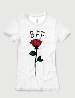 Μπλουζάκι με τύπωμα BFF