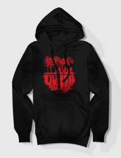 Premium hoodie με τύπωμα Stranger Things - Upside Down