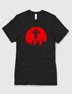 Μπλουζάκι με στάμπα Night Crawler