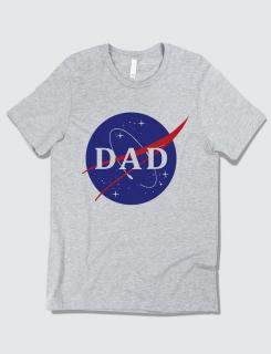Μπλουζάκι με τύπωμα Nasa Dad