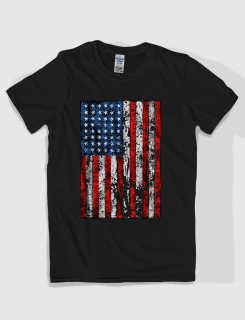 Μπλουζάκι με στάμπα American Flag