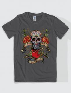 Μπλουζάκι με στάμπα la amor mata lentamente
