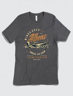 Μπλουζάκι με τύπωμα Wings over Athens