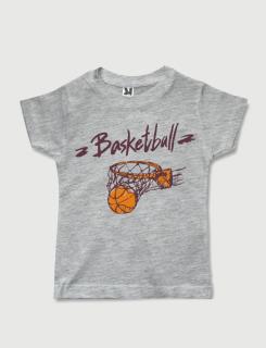 Μπλουζάκι με στάμπα Basketball