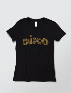 Μπλουζάκι με στάμπα DISCO