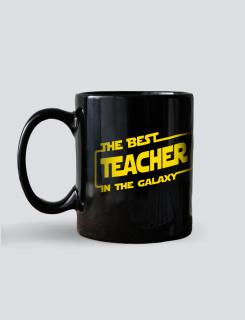 Κούπα κεραμική με τύπωμα Best teacher in the galaxy