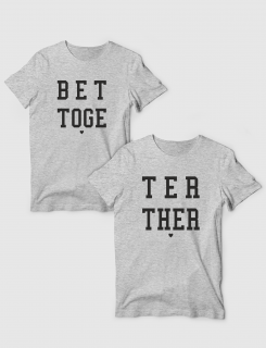 443a76a72317 Μπλουζάκια με τύπωμα Better Together