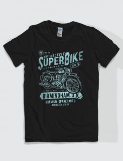 Μπλουζάκι με στάμπα Super Bike