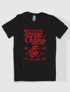 Μπλουζάκι με στάμπα Boxing Champ