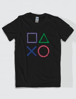 Μπλουζάκι με τύπωμα Play Buttons