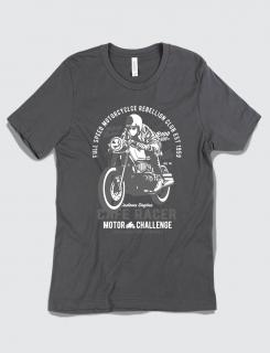 Μπλουζάκι με τύπωμα Cafe Racer