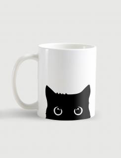 Κούπα κεραμική με τύπωμα Playful Cat