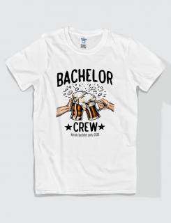 Μπλουζάκι με τύπωμα Bachelor Crew