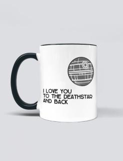 Κούπα με τύπωμα I love you to the deathstar