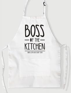 Ποδιά Μαγειρικής με τύπωμα Boss of the kitchen