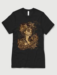 Μπλουζάκι με στάμπα Drop dead gorgeous