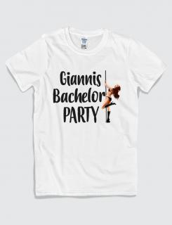 Μπλουζάκι με τύπωμα Bachelor Party
