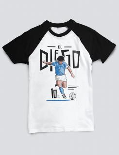 Μπλουζάκι με τύπωμα El Diego