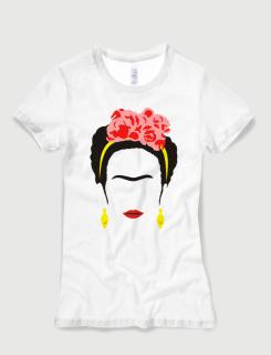 Μπλουζάκι με στάμπα Kahlo