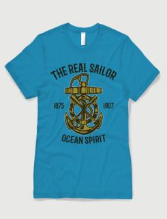 Μπλουζάκι με στάμπα Ocean spirit