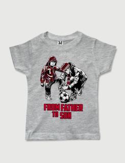 Μπλουζάκι με στάμπα From father to son 7