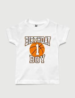 Μπλουζάκι με τύπωμα Birthday Boy