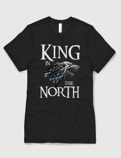 Μπλουζάκι με στάμπα King of the North
