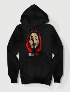 Hoodie με τύπωμα Bella Ciao