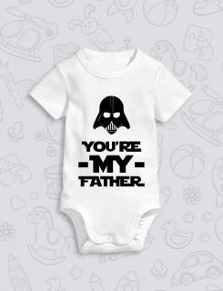Παιδικό φορμάκι με στάμπα You are my father