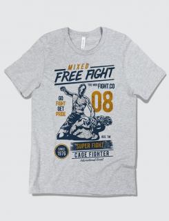 Μπλουζάκι με τύπωμα Mixed Free Fight