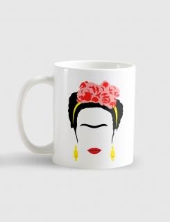Κούπα κεραμική με τύπωμα Frida