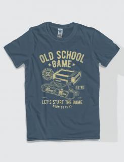Μπλουζάκι με στάμπα Old school game