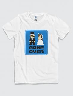 Μπλουζάκι με τύπωμα Game Over