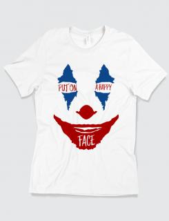 Μπλουζάκι με τύπωμα Put on a happy face