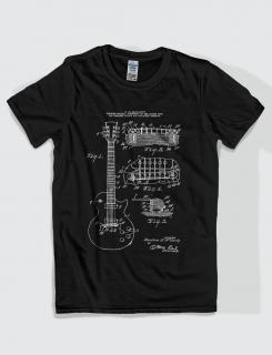 Μπλουζάκι με τύπωμα Gibson guitar