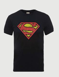 Μπλουζάκι με τύπωμα Superman Shield Cracked