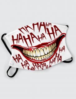 Μάσκα με εκτύπωση Haha Face