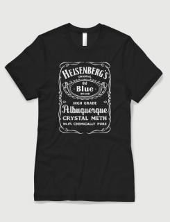 Μπλουζάκι με στάμπα Heisenberg's crystal meth