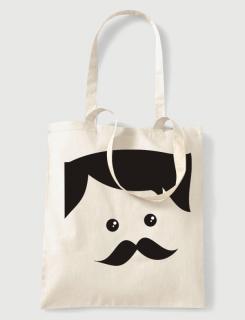 dbb345e04947 Υφασμάτινη τσάντα με στάμπα Hipster Bill