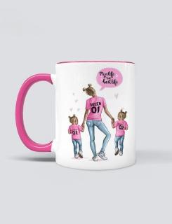 Κούπα με τύπωμα Mom's Life