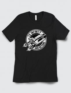 Μπλουζάκι με τύπωμα To infinity and beyond