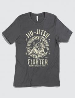 Μπλουζάκι με τύπωμα Jiu Jitsu Fighter