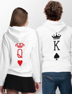 Σετ φουτεράκια με τύπωμα King and Queens cards