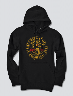 Hoodie με τύπωμα Strike First - Cobra Kai