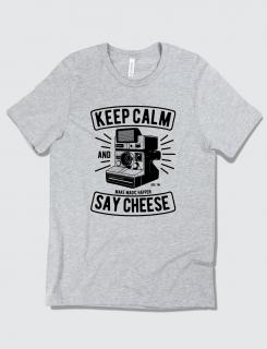 Μπλουζάκι με τύπωμα Keep Calm